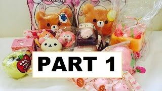 PUNI-MARU JUMBO BEAR PANCAKES, SEALS & MORE | INSTAGRAM SQUISHY HAUL
