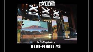 REPLAY OFFICIEL -  L'Afrique a un incroyable talent  - Demi Finales 3
