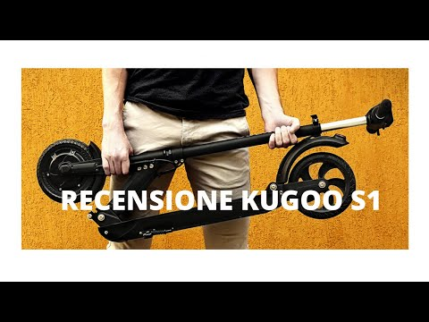 Recensione Monopattino elettrico KUGOO S1 - la sottile linea tra divertimento e infortunio