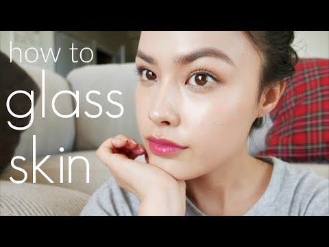 My Korean Glass Skin Tutorial   Perfect, Dewy Looking Skin through Makeup (REUPLOAD)