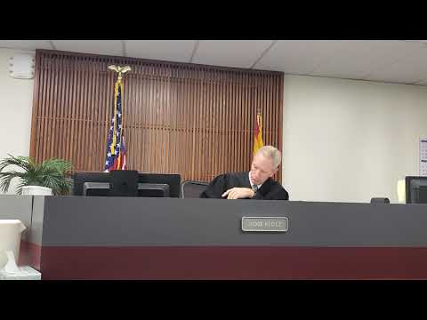 Day 2 part 2 Tucson City Court  About the January 24th incident at the Sausage Deli. Trevor Wilson.