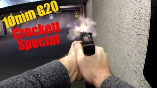 "First Shots and Impressions with the ""Crockett Special"" Glock 20"