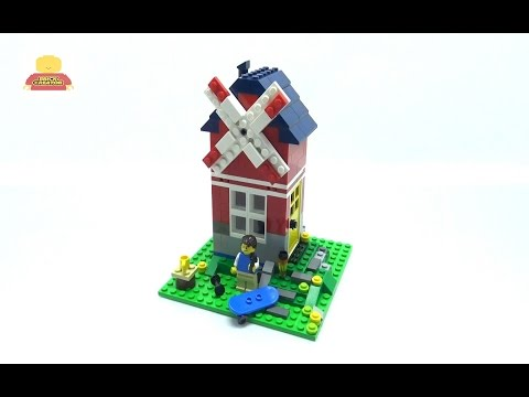 Vidéo LEGO Creator 31009 : La petite maison