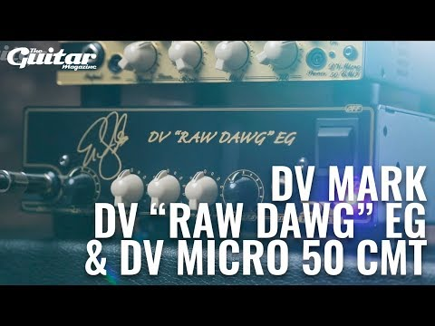 DV Mark CMT and Raw Dawg Heads