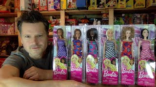 2019 HAS THE BEST BUDGET BARBIES EVER!!! EPIC UNBOXING MATTEL BARBIE REVIEW