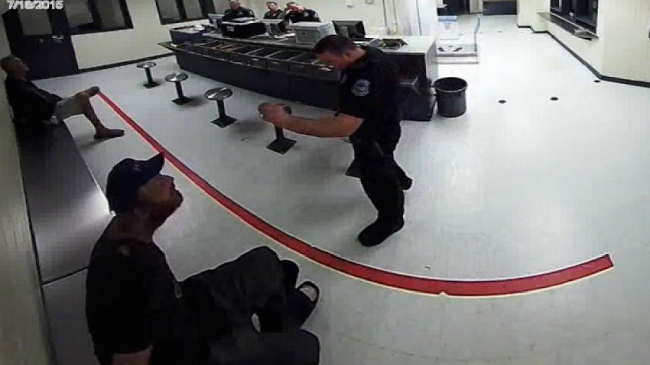 Cop Treats Handcuffed Man Like A Dog [VIDEO] thumbnail