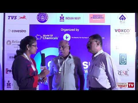 K G K Moorthy, SSPC South India, & Col U Ganesh Kumar, Padmaja Systems - Corrosion Technology Forum 2018