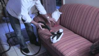 Reinigung von Polstern und Matratzen