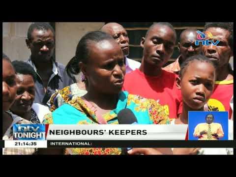 Residents in Kiambiu use the 'nyumba kumi' initiative to ensure children attend school