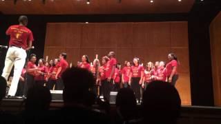 "Florida State University Gospel Choir 2015 ""Joy of the Lord"" - Judith Mcallister"