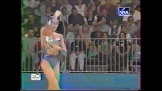 Inga TAVDISHVILI (GEO) rope - 2000 Sydney Olympics qualifs