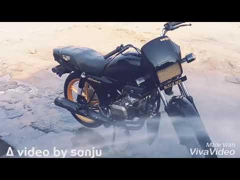 Modified bike splendor , Sanju ydv