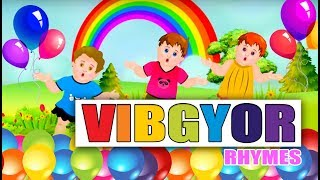 Simply Learn Colours with VIBGYOR | Rainbow Song | Kids club rhymes | Colours Song For Children