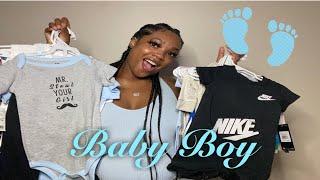 FIRST BABY BOY CLOTHING HAUL 2020👶🏾💙