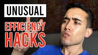 2 Uncommon Efficiency Hacks | Friction & Self-Imposed Rules