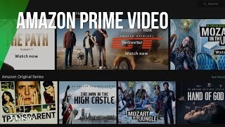 Amazon Prime Video ya disponible