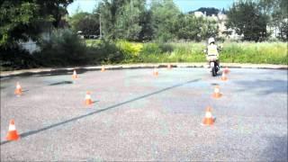preview picture of video 'Prove esame ciclomotore e motocicletta presso l'autoscuola Manzanese di Manzano (UD)'
