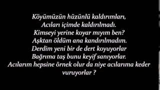 Sancak - Gözümden Düştüğün An Ft.Taladro&Canfeza Lyrics