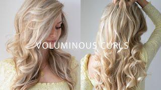 HOW TO: VOLUMINOUS CURLS (LONG LASTING) ✨ Everyday Curls