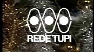 Última transmissão da TV Tupi