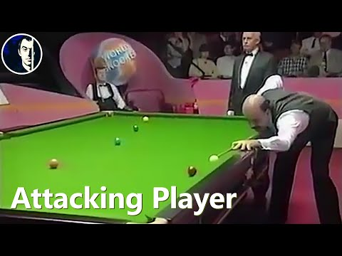 The only game they ever played at the Crucible was unforgettable | Steve Davis vs Willie Thorne