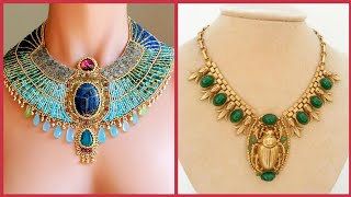 Beautiful Necklace In Egyptian Style