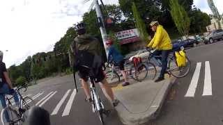 preview picture of video 'Bike to Work Commute - Seattle'