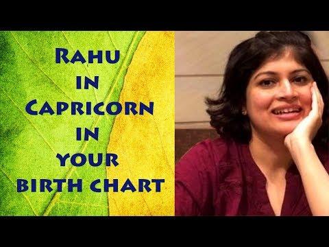 Rahu in Capricorn | Rahu through signs | Rahu in Vedic astrology