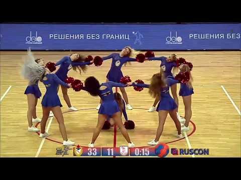 Группа поддержки ЦСКА Гандбол Lucky Demons Cheerleaders Черлидеры Черлидинг
