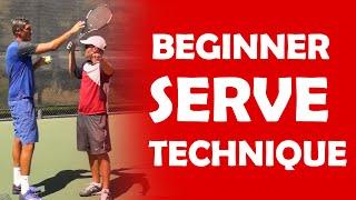 Beginner Serve Technique | BEGINNER LESSONS