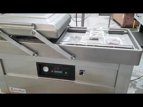 Empacadora al vacío Doble Camara DZQ600/2SB