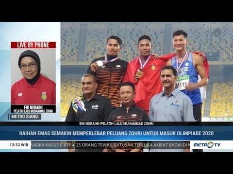 Juara di Malaysia 2019, Zohri Berpeluang Masuk Olimpiade 2020