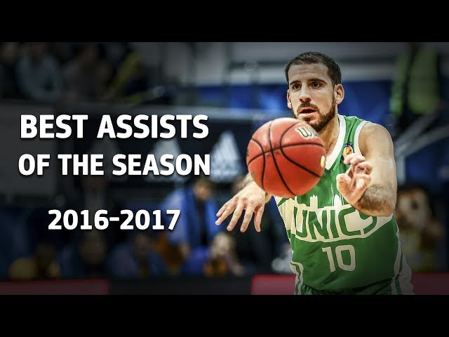 Best Assists of the Season 2016-2017