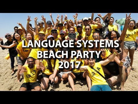 Language Systems Beach Party 2017
