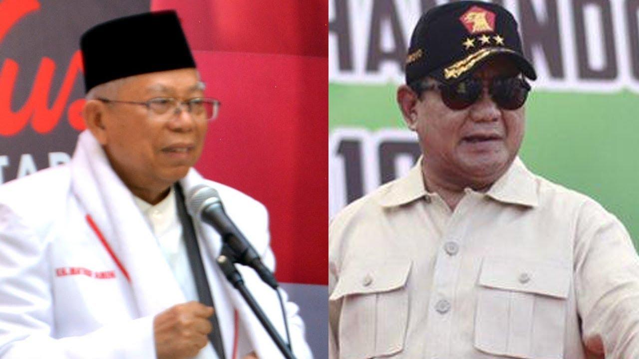Prabowo Singgung Indonesia Punah, Kiai Ma'ruf: Memangnya Hewan Purba