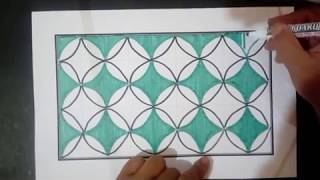 54+ Gambar Batik Mudah Di Gambar Terbaik