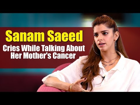 Sanam Saeed Cries While Talking About Her Mother's Cancer | Desi Tv