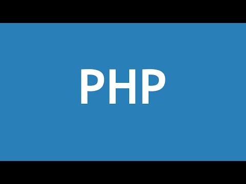 تعلم لغة PHP القائمة #1 الفديو #1