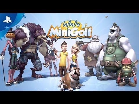 Infinite Minigolf - Announcement Trailer | PS4, PS VR thumbnail