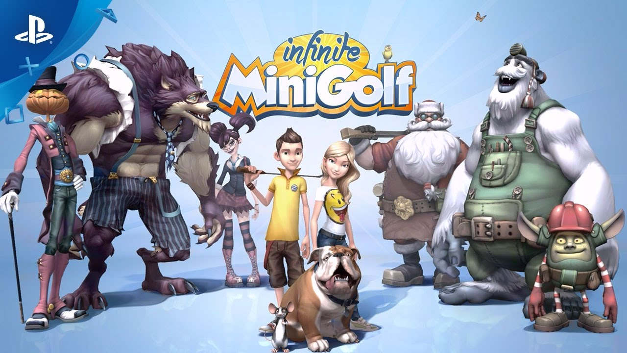 Infinite Minigolf Coming to PS4 and PS VR This Spring