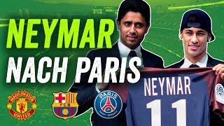 Rekordtransfer Neymar! PSG, Barcelona oder Manchester? Wohin geht's?