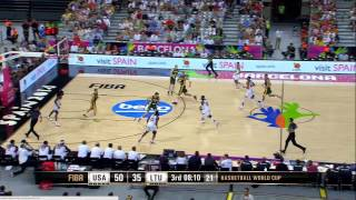 SEMIFINALES USA vs Lithuania Mundial Baloncesto 2014