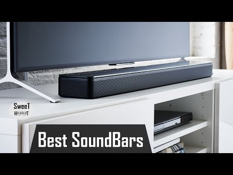 Top 7 Best SoundBars 2017 – Affordable TV Sound Bar Reviews