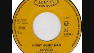 Donovan - Hurdy Gurdy Man 45 at 33