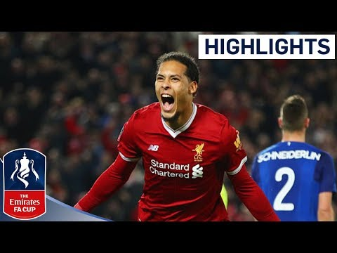 Liverpool 2 - 1 Everton Official Highlights | Emirates FA Cup 2017/18