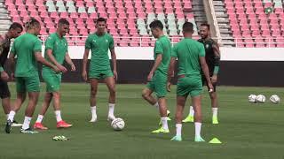 تصريح اللاعبين سفيان رحيمي وسفيان أمرابط قبل لقاء غانا