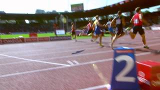 Decathlon Men 100m all heats. European Champs Zurich 2014