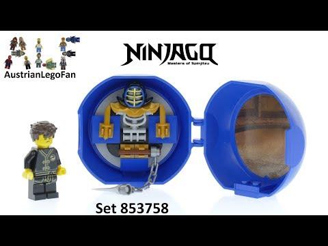 Vidéo LEGO Ninjago 853758 : Capsule Entraînement au kendo de Jay