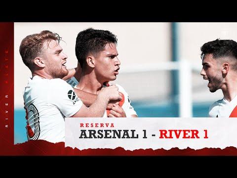 Reserva  El golazo de Londoño Bedoya a Arsenal