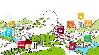Thinking rural and urban areas together contribute to achieve several SDGs